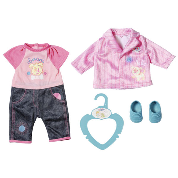 Zapf Creation Baby born 827-369 Бэби Борн my little BABY born Одежда для детского сада, 36 см zapf creation baby born одежда для велопрогулки 823 705