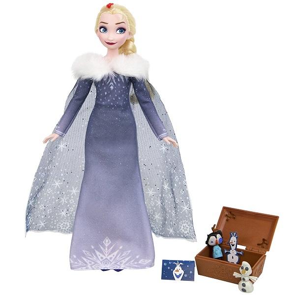 Hasbro Disney Princess C3382/C3383 Холодное сердце Рождество с Олафом Эльза disney мини кукла холодное сердце эльза в голубом платье 7 5 см