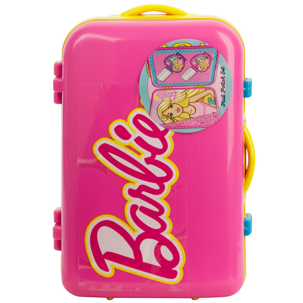 Markwins 9600351 Barbie Набор детской декоративной косметики в чемоданчике розовый