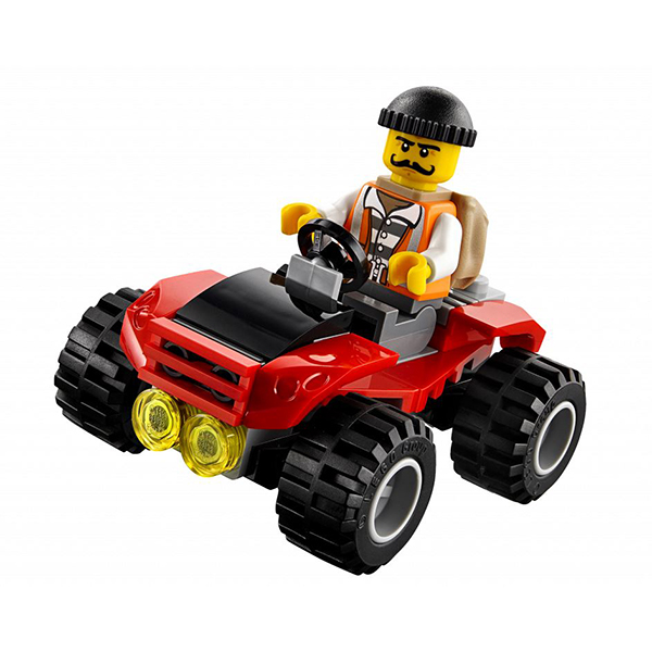 LEGO City 60139 Конструктор ЛЕГО Город Мобильный командный центр