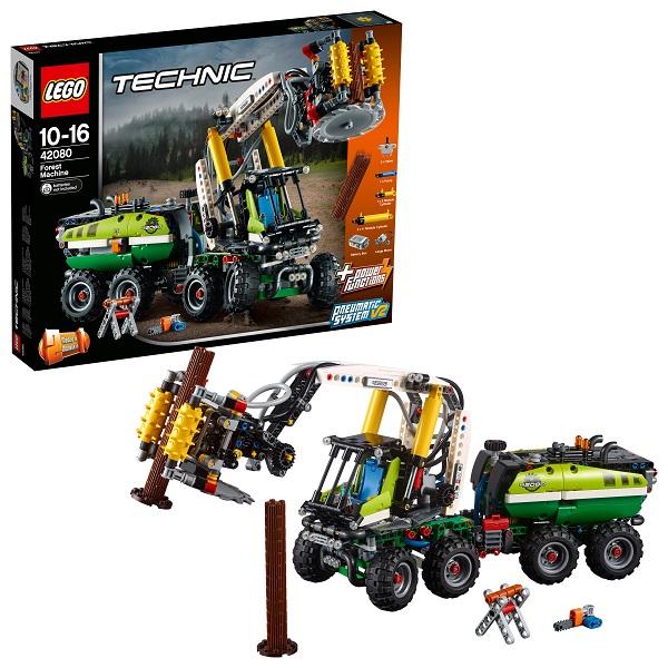LEGO Technic 42080 Конструктор ЛЕГО Техник Лесозаготовительная машина цена и фото