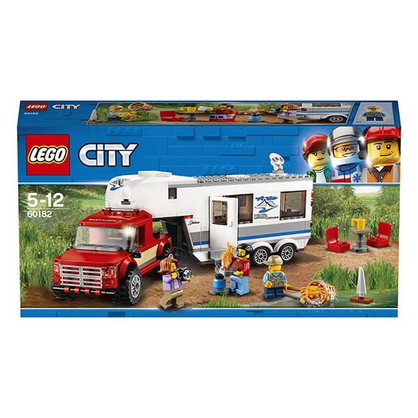 LEGO City 60182 Конструктор ЛЕГО Город Дом на колесах