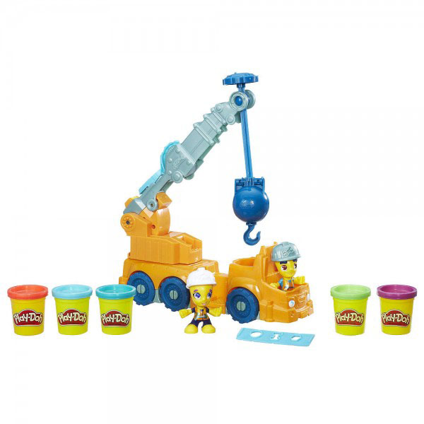 Hasbro Play-Doh B6281 Кран play doh набор для лепки магазинчик печенья play doh