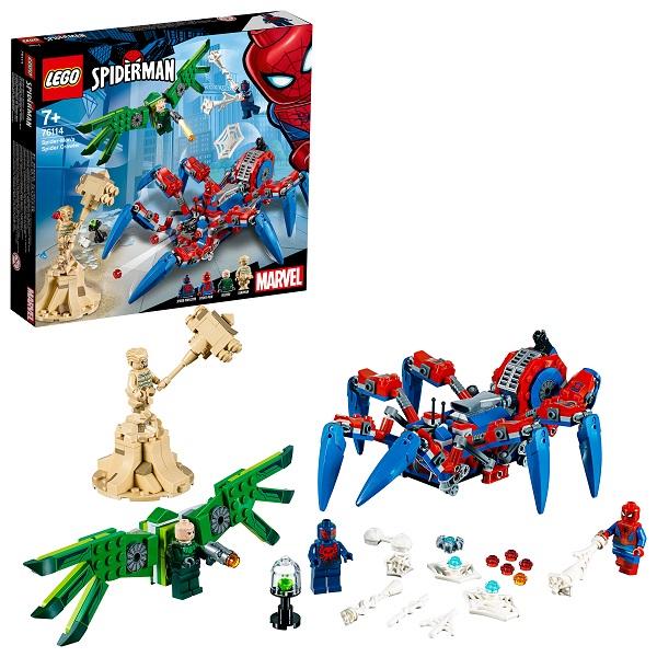 Lego Super Heroes 76114 Конструктор Лего Супер Герои Человек-паук: Паучий вездеход