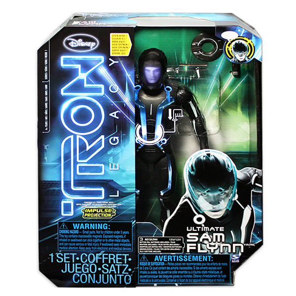 Tron 39019 Трон Фигурка 30 см на подставке со световыми и звуковыми эффектами