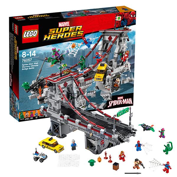 Lego Super Heroes 76057_9 Лего Супер Герои Человек-паук: Последний бой воинов паутины