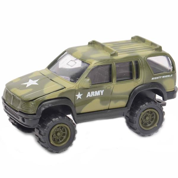 Soma 78168 Военный внедорожник 12 см машины tomy john deere трактор monster treads с большими колесами и вибрацией