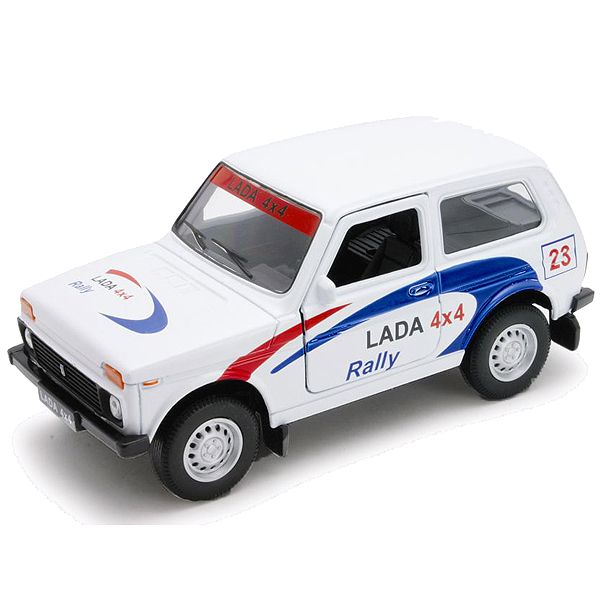 Welly 42386RY_1 Велли Модель машины 1:34-39 LADA 4x4 Rally