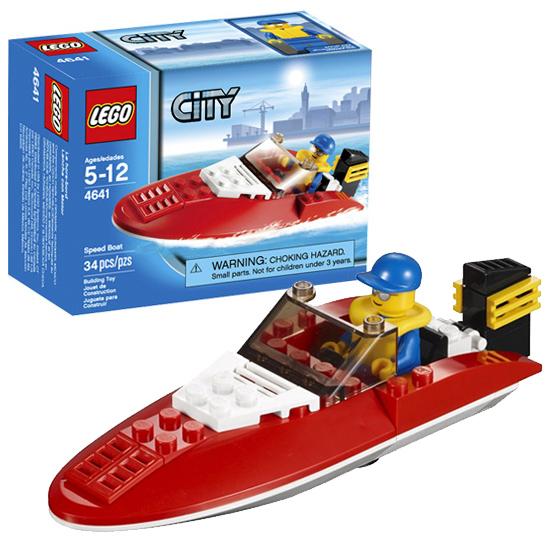 LEGO City 4641 Конструктор ЛЕГО Город Скоростной катер