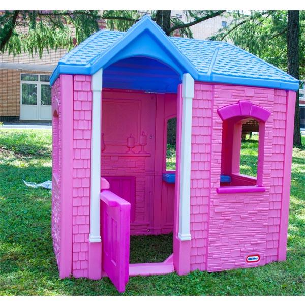 Little Tikes 172496_103 Литл Тайкс Игровой домик Розовый