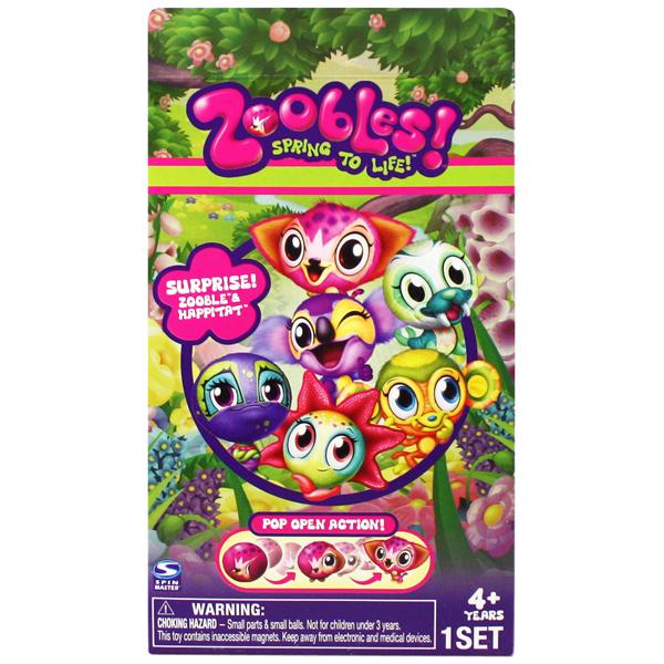 Zoobles 13230 Зублс набор из 1 Зублс в закрытой упаковке