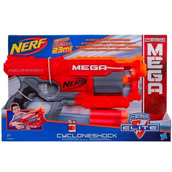 Hasbro Nerf A9353 Нерф Бластер Мега Циклон-шок