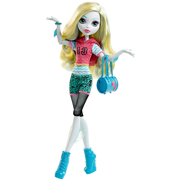 Mattel Monster High DVH25 Кукла Лагуна Блю