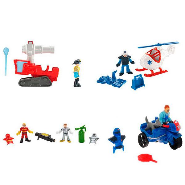 Mattel Imaginext CJM55 Ассортимент береговой техники