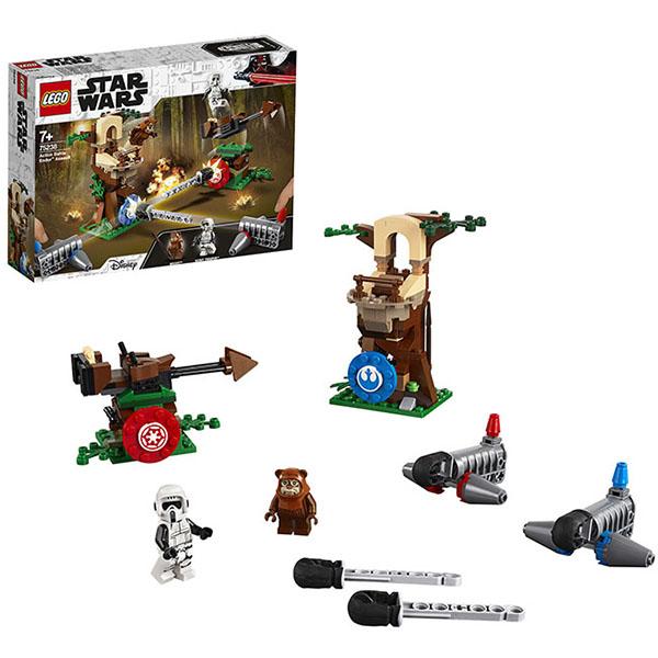 LEGO Star Wars 75238 Конструктор ЛЕГО Звездные Войны Нападение на планету Эндор игровые наборы playskool игровой набор звездные войны с фигуркой эвока