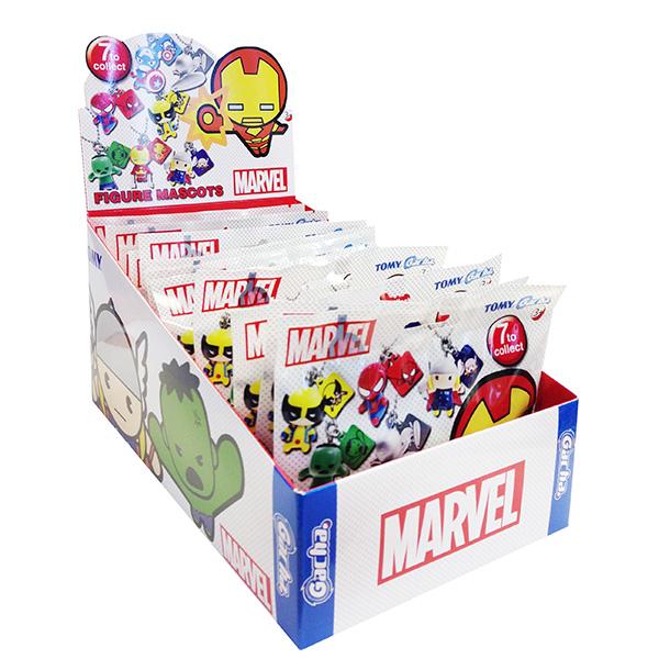 TOMY Minifigures T88421 Томи Минифигурки Брелок на цепочке Marvel