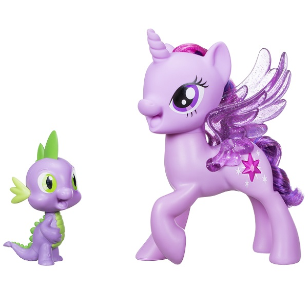 """Hasbro My Little Pony C0718 Май Литл Пони """"Сияние"""" Поющие Твайлайт и Спайк"""