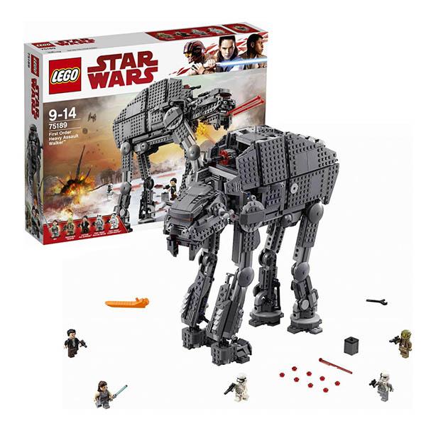 Lego Star Wars 75189 Конструктор Лего Звездные Войны Штурмовой шагоход Первого Ордена конструктор lego star wars тяжелый разведывательный шагоход первого ордена 75177 l