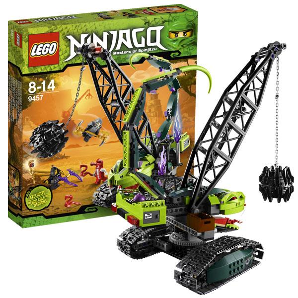 Lego Ninjago 9457 Конструктор Лего Ниндзяго Разрушительная машина Фэнгпайе