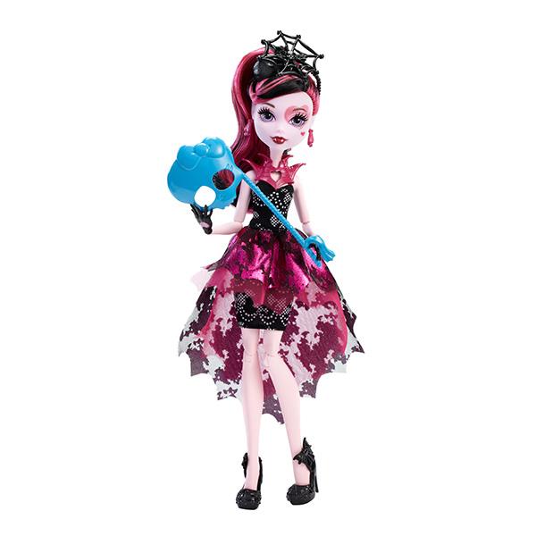 "Mattel Monster High DNX33_9 Куклы из серии ""Буникальные танцы"", Дракулаура с аксессуарами"