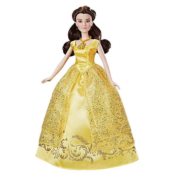Hasbro Disney Princess B9165 Поющая Белль куклы disney princess модная кукла принцесса в в юбке с проявляющимся принтом в ассорт