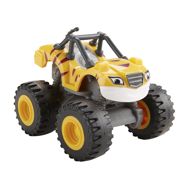 Mattel Blaze DKV87 Вспыш и его друзья, Рык машинка blaze вспыш и чудо машинки 8 см в ассортименте