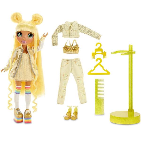 Poopsie Surprise Unicorn 569626 Кукла Rainbow High-Sunny Madison