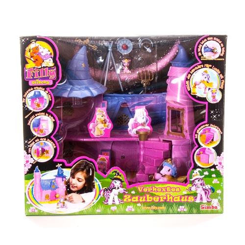 Игровой набор Filly Witchy 63-16_1 Филли Ведьмы Заколдованный замок (мал)