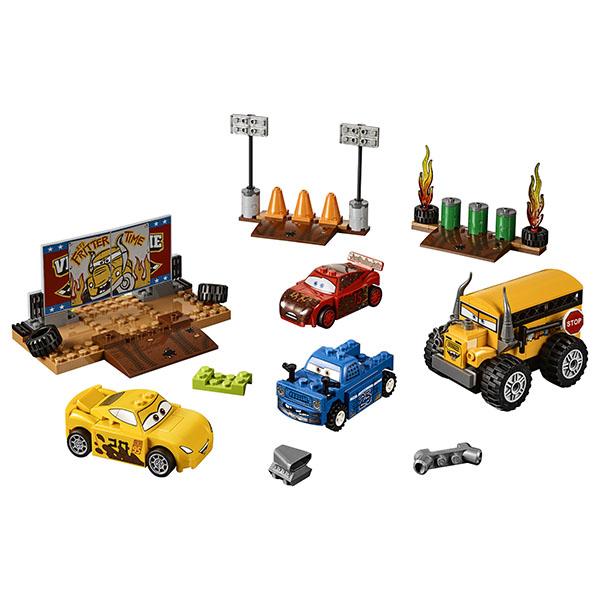 """Lego Juniors 10744 Конструктор Лего Джуниорс Тачки Гонка """"Сумасшедшая восьмерка"""""""