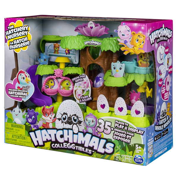 """Hatchimals 19109 Хетчималс Игровой набор """"Детский сад для птенцов"""""""