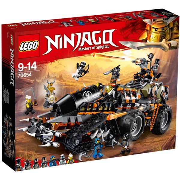 LEGO Ninjago 70654 Конструктор ЛЕГО Ниндзяго Стремительный странник