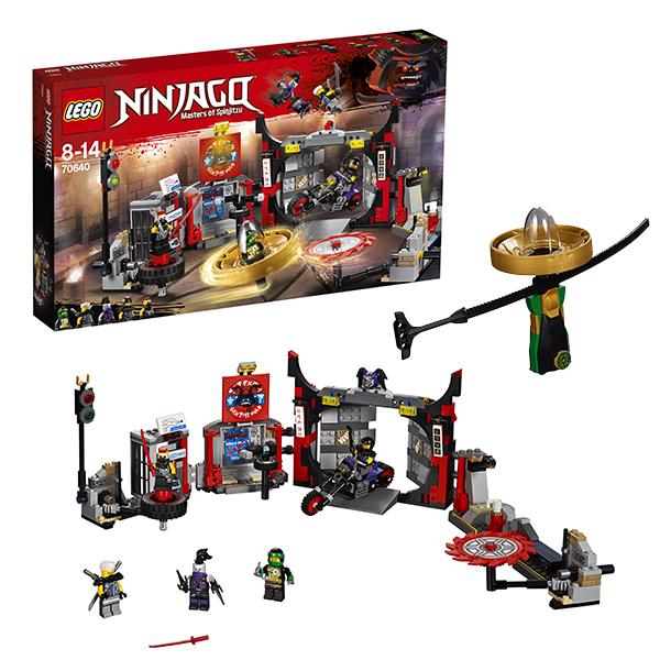Lego Ninjago 70640 Конструктор Лего Ниндзяго Штаб-квартира Сынов Гармадона
