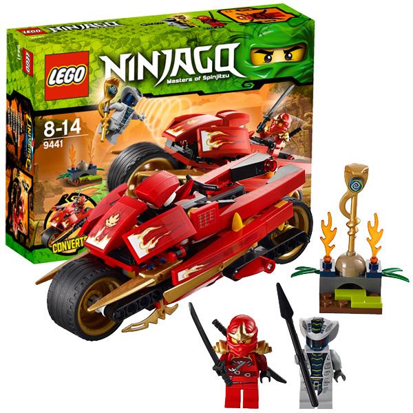 Lego Ninjago 9441 Конструктор Лего Ниндзяго Мотоцикл Кая