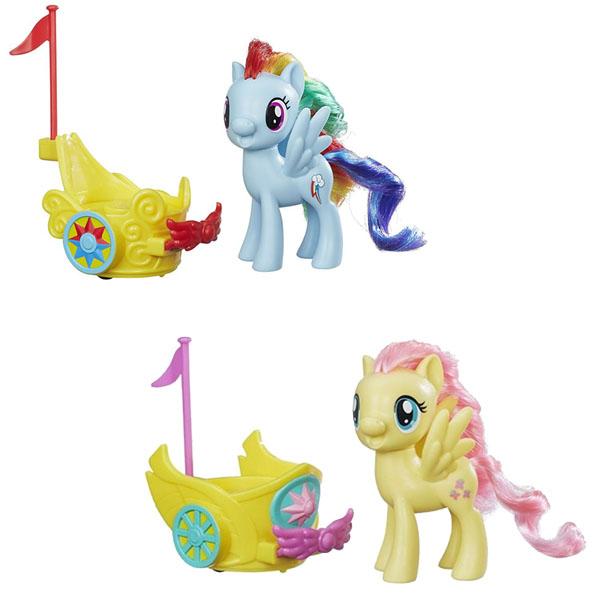 Hasbro My Little Pony B9159 Май Литл Пони Пони в карете (в ассортименте) hasbro my little pony b3604 май литл пони мейнхеттен в ассортименте