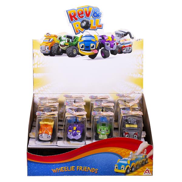 Rev&Roll RU881800 Машинка инерционная (пластик) в ассортименте