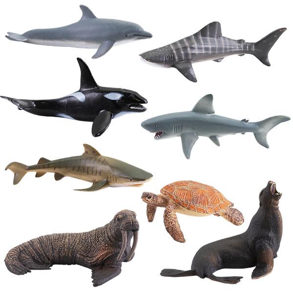Игрики ZOO TAV009 Фигурка Обитатели морей, 8 видов (в ассортименте) zoo page 8
