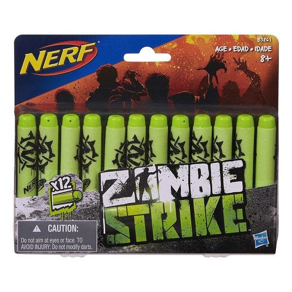 Hasbro Nerf B3861 Нерф Зомби Стрелы 12 штук