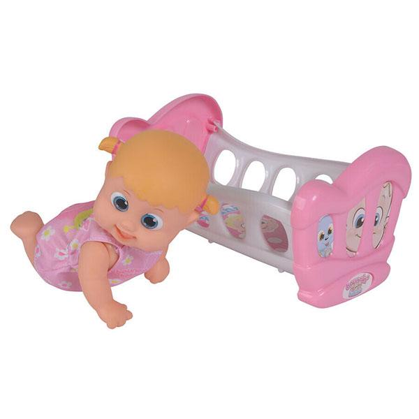 Bouncin' Babies 803002 Кукла Бони с кроваткой, 16 см
