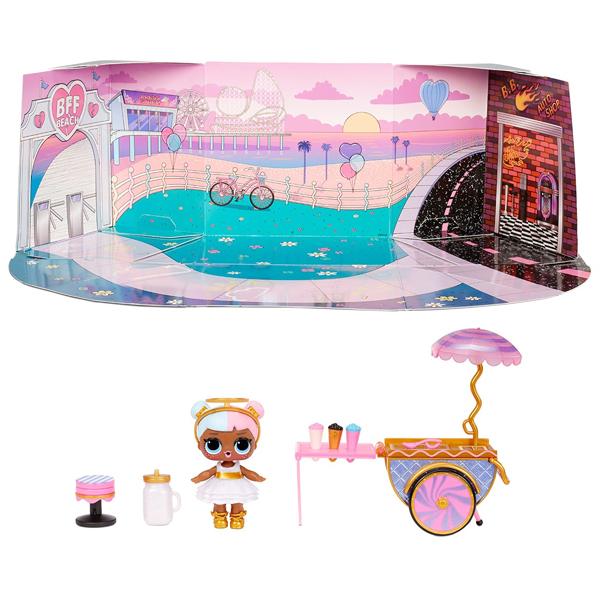 L.O.L. Surprise 572626 Игровой набор с куклой - тележка со сладостями