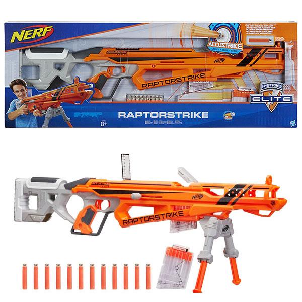 Hasbro Nerf C1895 Нерф Аккустрайк Рапторстрайк (бластер) игрушка hasbro nerf аккустрайк 12 стрел c0162