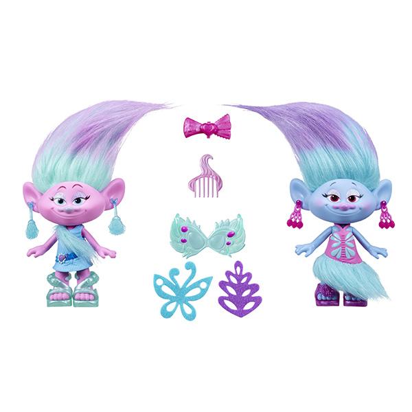 Hasbro Trolls B6563 Тролли Модные близнецы