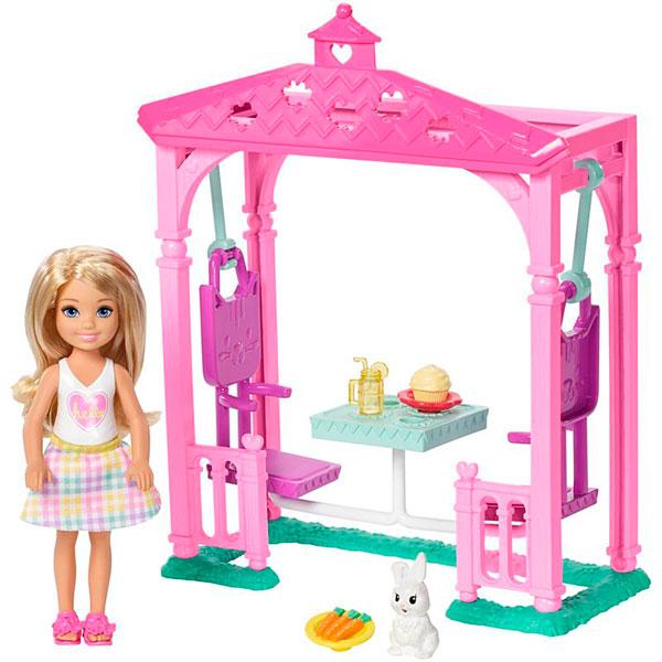 Mattel Barbie FDB34 Барби Челси и набор мебели mattel mattel кукла ever after high мишель мермейд