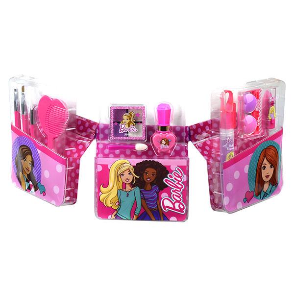 Markwins 9709151 Barbie Игровой набор детской декоративной косметики с поясом визажиста
