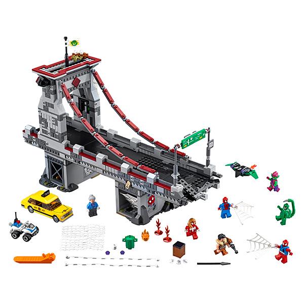 Lego Super Heroes 76057 Конструктор Лего Супер Герои Человек-паук: Последний бой воинов паутины