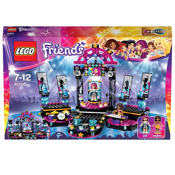Конструктор Lego Friends 41105 Лего Подружки Звезда на сцене