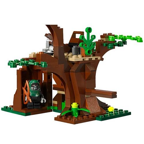 Lego Star Wars 7956 Конструктор Лего Звездные войны Атака Эвоков