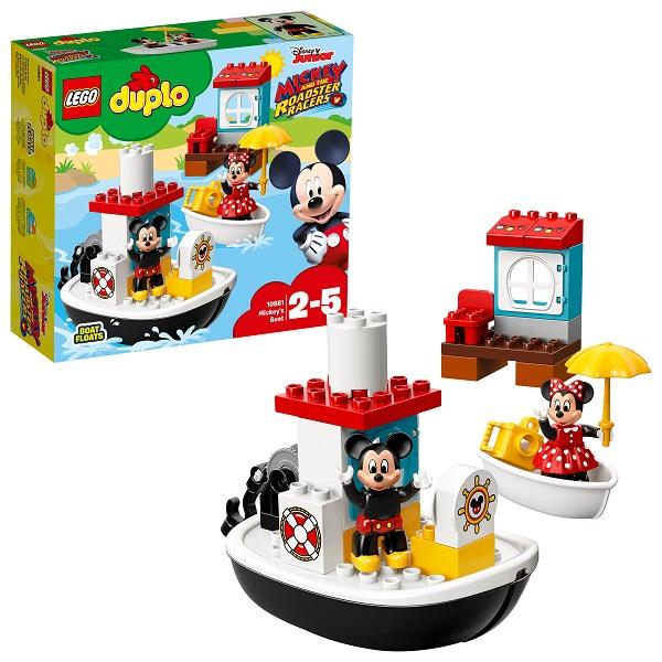 Lego Duplo 10881 Конструктор Лего Дупло Дисней Катер Микки lego duplo disney катер микки 10881
