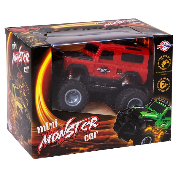 Wincars YN-2042 Внедорожник Mini monster car, Р/У, свет (в ассортименте)