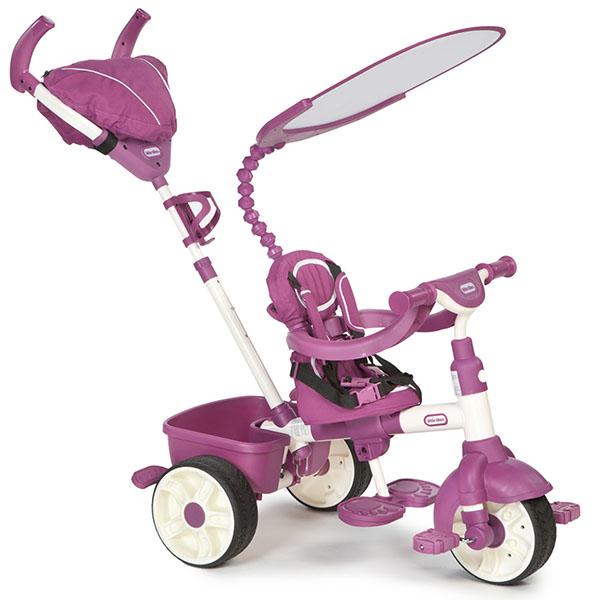 Little Tikes 634369 Литл Тайкс Велосипед 4 в 1, розово-белый