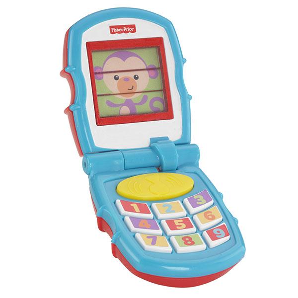 Mattel Fisher-Price Y6979 Фишер Прайс Раскладной телефон развивающие коврики fisher price mattel 3 в 1 розовые джунгли